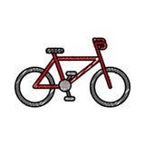 Sport bike vehicle Royalty Free Stock Images