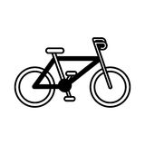 Sport bike vehicle Stock Images