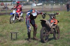 Sport bikes Stock Image