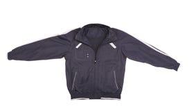 Sport blauw en wit jasje. stock foto's