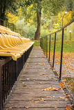 Sport Bleachers in a Park Royalty Free Stock Photography