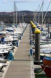 Sport boat transportation Stock Photo