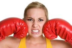 sport bokserska kobieta Zdjęcia Stock