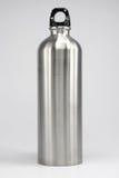 Sport Bottle. Stainless Steel Silver Sport Bottle stock photo