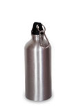Sport bottle. Aluminium sport bottle, durable for a traveling, hiking, camping, bicycling Stock Images