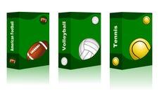 Sport box Stock Image