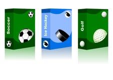 Sport box Stock Photography