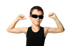 Sport boy Royalty Free Stock Images