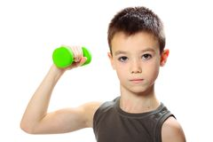 Sport boy Royalty Free Stock Photo
