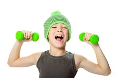 Sport boy Stock Photography
