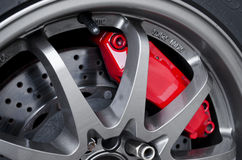 Sport brakes royalty free stock photography