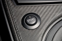 Sport button. Stock Photo