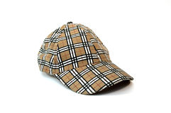 Sport cap isolated. On white royalty free stock photography