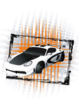 Sport Car 02 Royalty Free Stock Images