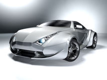 Sport car. My own car design. Not associated with any brand Stock Photography