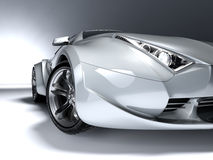 Sport car. My own car design. Not associated with any brand Stock Photos