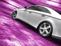 Sport car. On a grunge background royalty free stock photos