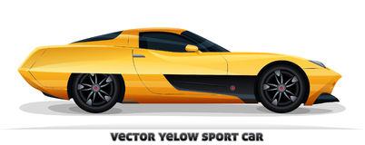 Sport car,  Royalty Free Stock Photos