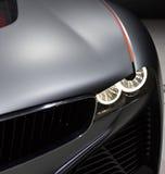 Sport car. Closeup of sport car headlight Royalty Free Stock Photos