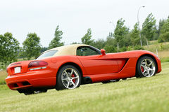 Sport car. Picture of the dodge viper srt10 convertible Royalty Free Stock Photo