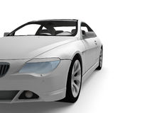 Sport car. On a white background royalty free stock photos