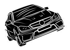 Sport car Stock Afbeelding