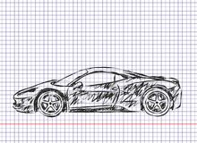 Sport car Stockfotos