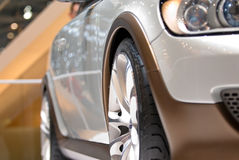 Sport Car. Details of a sport car Royalty Free Stock Photo