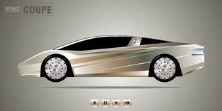 Sport car Lizenzfreies Stockbild