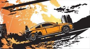 Sport car illustrazione vettoriale