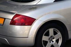 Sport car. Audi TT closeup royalty free stock photos