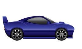 Sport Car. A purple color sport car Stock Photography