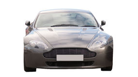 Sport car - aston martin isolated Royalty Free Stock Photo