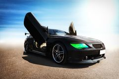 Tuned sport car. Stock Images