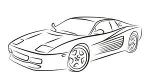 Car Sketch Sports Stock Illustrations 932 Car Sketch Sports Stock