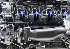 Sport car engine Royalty Free Stock Image