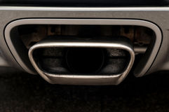 Sport car exhaust. Stock Image