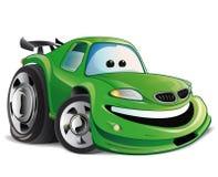 Sport car. Green sports car the best entertainment stock illustration