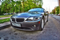 Sport car in HDR Stock Photography