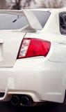 Sport car headlight Royalty Free Stock Image