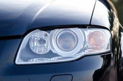 Sport car headlight stock image