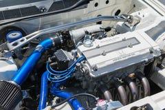 Sport car high tech powerful Honda engine Stock Photo