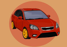 Sport Car. Illustration of a Sport Car vector illustration