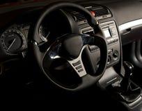 Sport car interior Stock Image