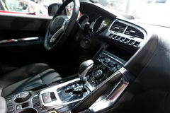 Sport car interior,cab Stock Images