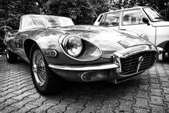 Sport car Jaguar E-Type 4,2 Stock Photos