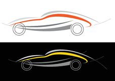 Sport car logo Stock Photos