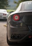 Sport car. Modern luxury close up detail Stock Photography