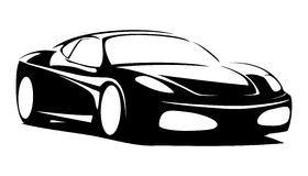 Sport car. For print or for site Stock Photography