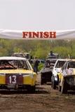 Sport car racing Stock Photography